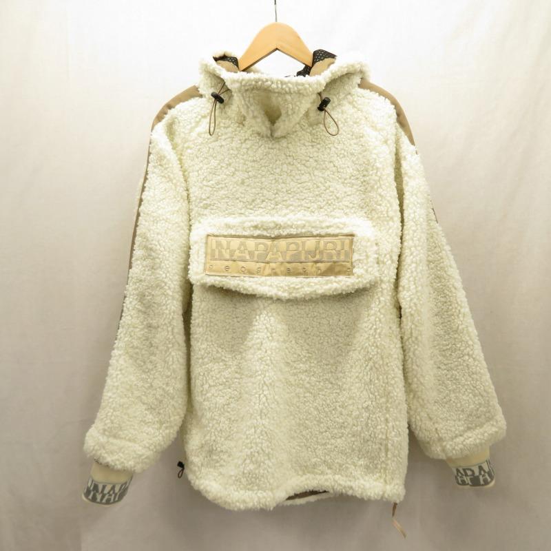 【中古】NAPAPIJRI/ナパピリ フリースジャケット サイズ:1 カラー:ホワイト / インポート【f094】