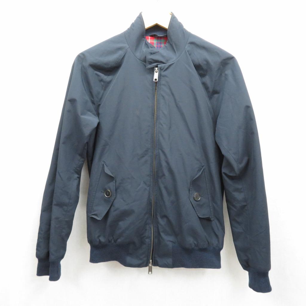 【中古】BARACUTA/バラクータ スウィングトップ ジャケット サイズ:36 カラー:ネイビー / インポート【f094】