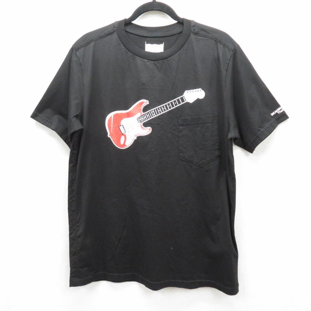 【中古】TAKAHIRO MIYASHITA TheSoloist/タカヒロミヤシタザソロイスト 20SS/Guiter Tee Tシャツ半袖 サイズ:52 カラー:ブラック / ドメス【f104】