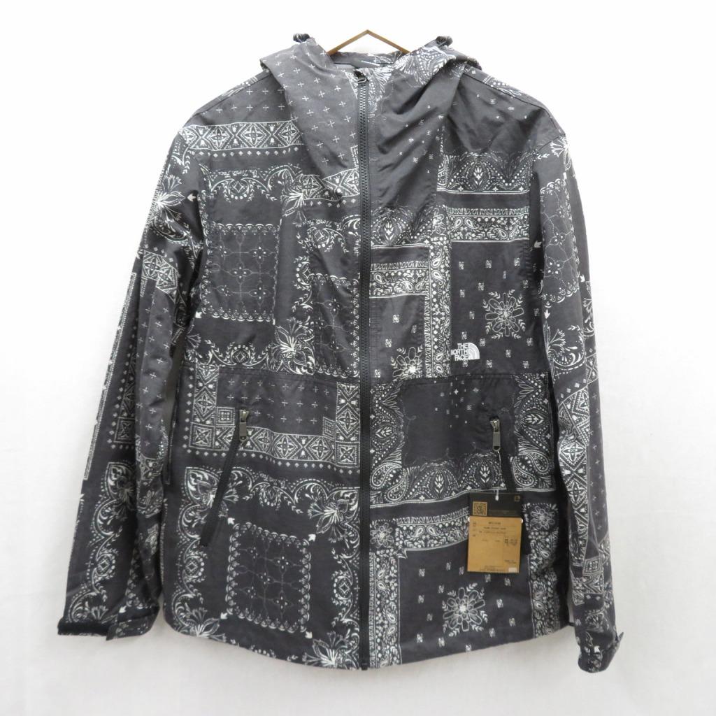 【中古】THE NORTH FACE/ザノースフェイス Novelty Compact Jacket /ノベルティコンパクトジャケット NP71535 サイズ:L カラー:ブラック / アウトドア【f092】