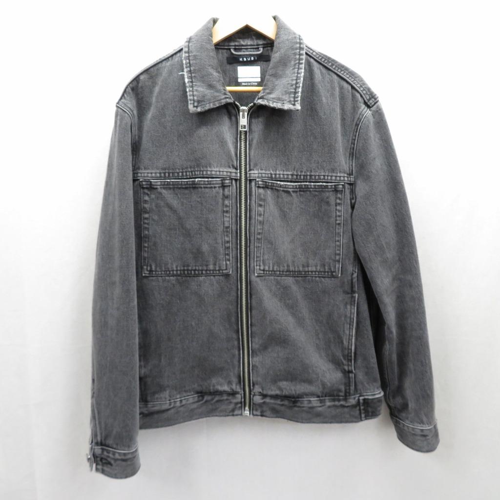 【中古】KSUBI/スビ デニムジャケット サイズ:S カラー:ブラック / ストリート【f095】