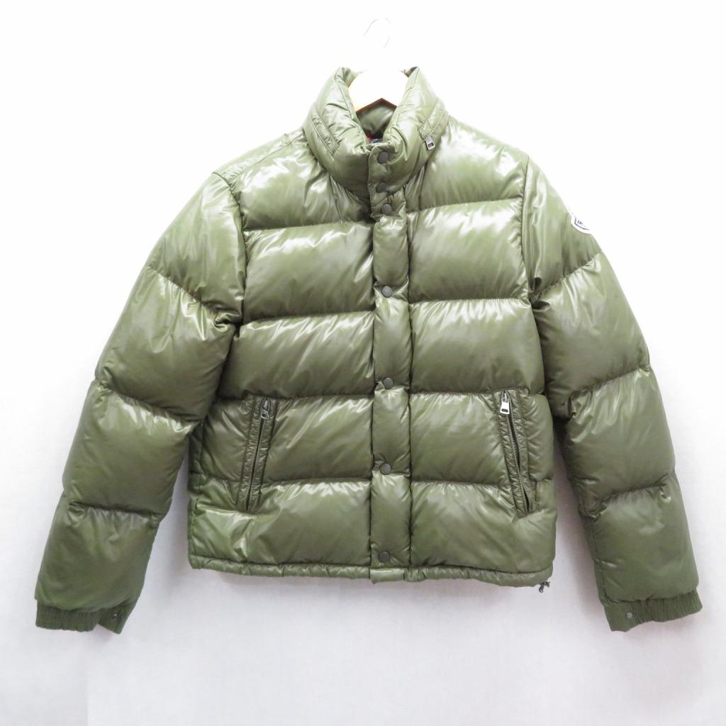 【中古】MONCLER/モンクレール EVEREST エベレスト ダウンジャケット サイズ:2 カラー:カーキ【f108】