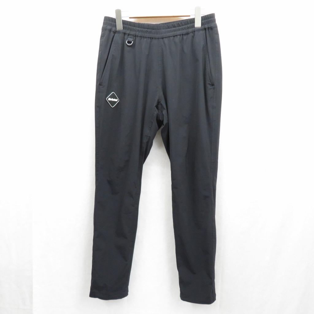【中古】F.C.R.B./F.C.Real Bristol/エフシーレアルブリストル LYCRA EASY PANTS パンツ サイズ:M カラー:ブラック / ストリート【f107】