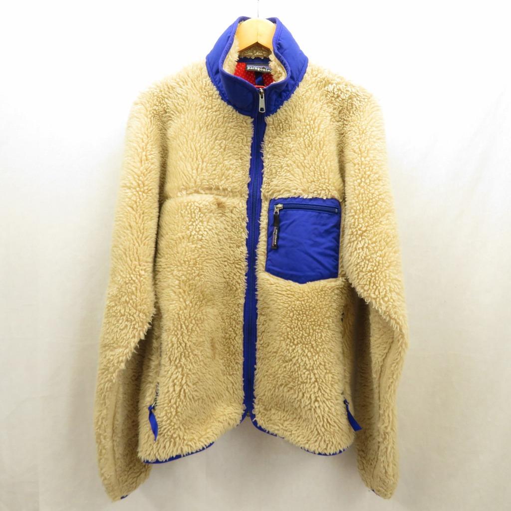 【中古】patagonia/パタゴニア メンズ・クラシック・レトロX・ジャケット サイズ:M カラー:ベージュ / アウトドア【f092】