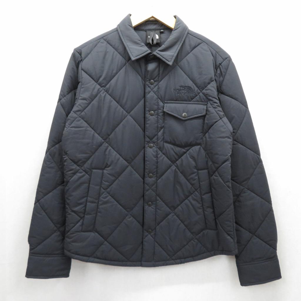 【中古】THE NORTH FACE/ザ ノースフェイス STUFFED SHIRT/スタッフドシャツ 中綿ジャケット NY81832 サイズ:S カラー:ブラック / アウトドア【f092】