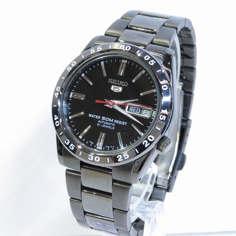 訳あり商品 中古 SEIKO 再再販 セイコー 7S26-02T0 自動巻き カラー:ブラック サイズ:ー f131 腕時計
