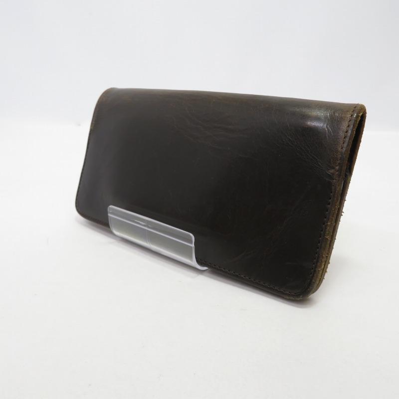 激安通販ショッピング 中古 保証 PORTER ポーター 長財布 サイズ:ー カラー:ブラウン f124