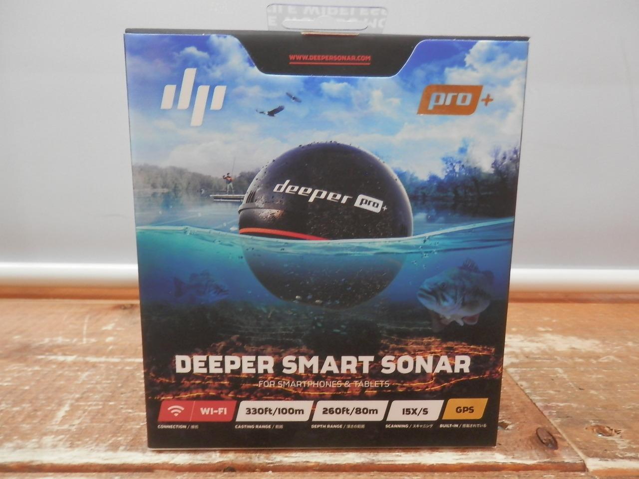 DeeperDeeper Pro+ 魚群探知機FRI-BT-000004【中古】【フィッシング/釣り/釣具/その他釣具】