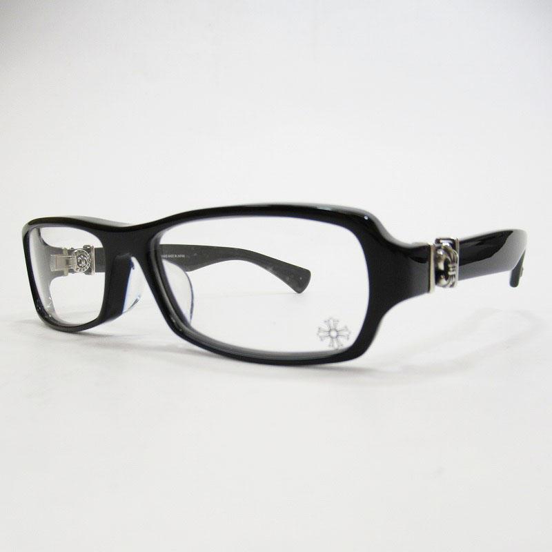 【中古】CHROME HEARTS/クロムハーツ GITTIN ANY-II 伊達眼鏡 サイズ:ー カラー:ブラック【f116】