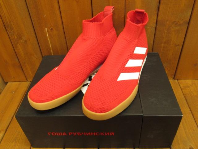 【中古】 adidas×Gosha Rubchinskiy |アディダス×ゴーシャ・ラブチンスキー GR ACE 16 TR RED CM7900/ スニーカー【f126】 サイズ:27.0cm カラー:レッド