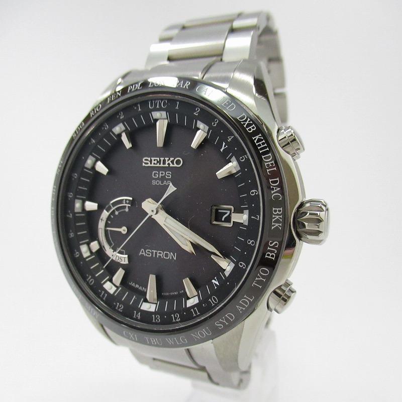 【中古】SEIKO|セイコー ASTRON アストロン  GPSソーラー SBXB085 腕時計 サイズ:- カラー:シルバー【f131】