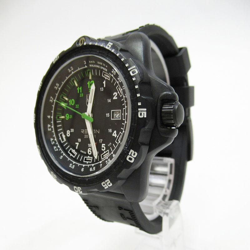 【中古】LUMINOX/ルミノックス RECON NAVSPC 8830 腕時計 サイズ:ー カラー:ブラック(文字盤)×ブラック(ベルト)【f131】