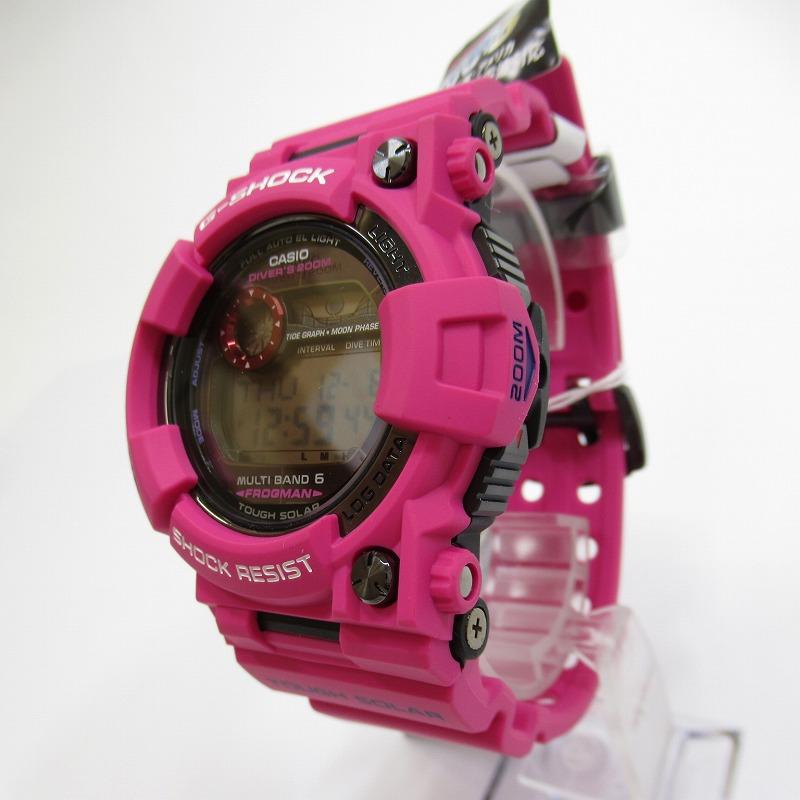 【中古】CASIO/カシオ G-SHOCK ジーショック FROGMAN MEN IN SUNRISE PURPLE GWF-1000SR-4JF 腕時計 サイズ:ー カラー:ピンク系(ベルト)【f131】
