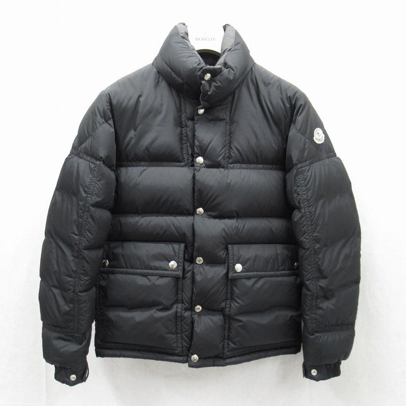 【中古】MONCLER/モンクレール BREL ブレル ダウンジャケット サイズ:1 カラー:ブラック【f108】
