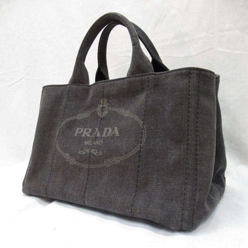 【中古】PRADA/プラダ 1BG642AJ6 カナパ 2WAYトートバッグ サイズ:ー カラー:NERO【f122】