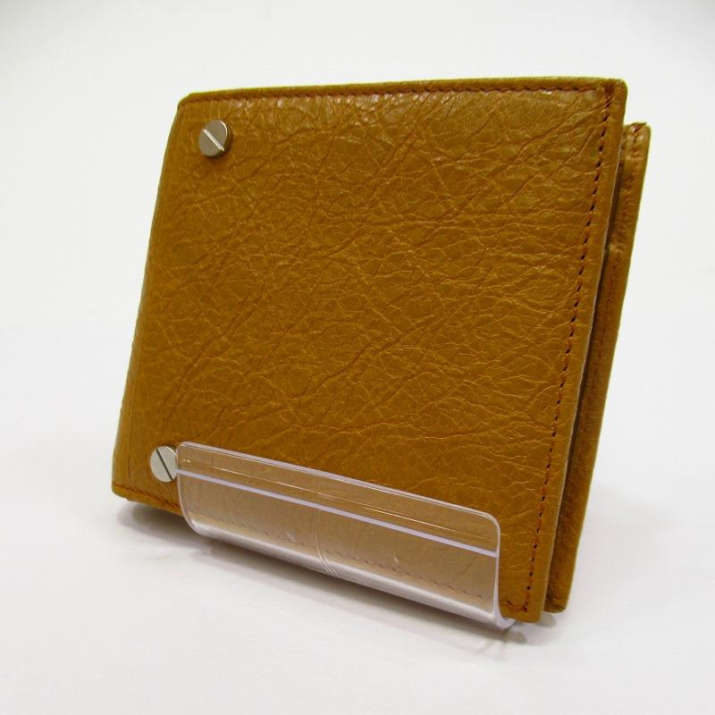 【中古】BALENCIAGA/バレンシアガ DB994 二つ折り財布 【f125】