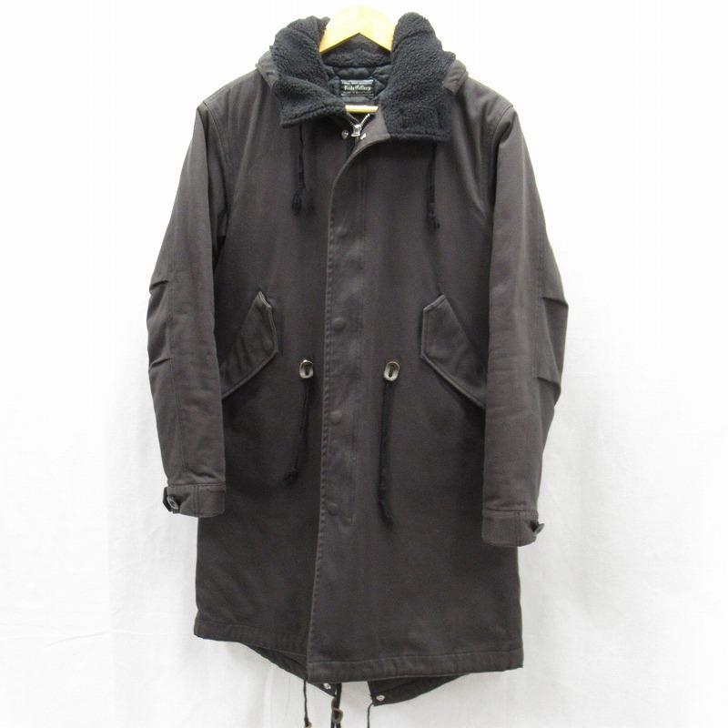 【中古】RUDE GALLERY/ルードギャラリー ミリタリージャケット サイズ:4 カラー:ブラック / ルード【f096】
