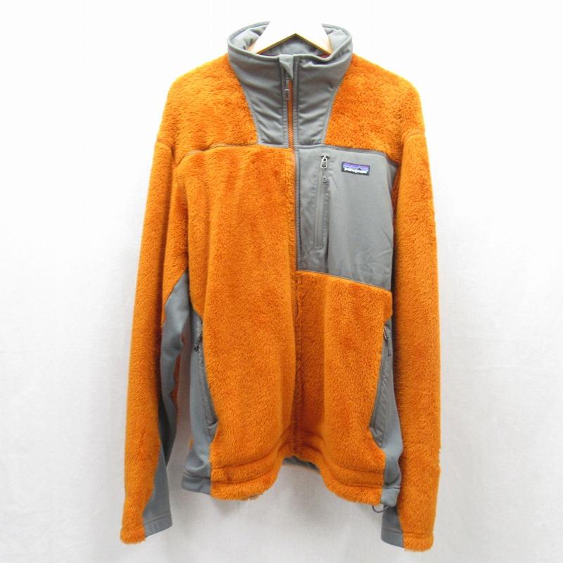 【中古】patagonia/パタゴニア R3 HiLoft Jacket R3 ハイロフトジャケット フリースジャケット サイズ:L カラー:オレンジ系 / アウトドア【f092】