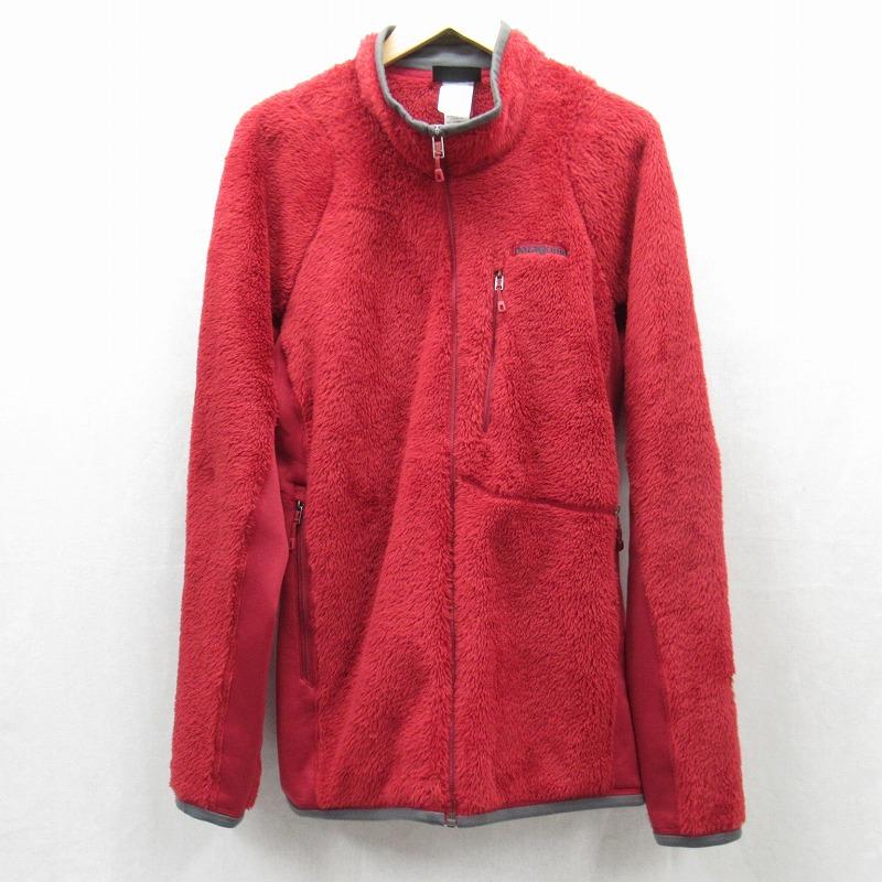 【中古】patagonia/パタゴニア R3 Jacket フリースジャケット サイズ:L カラー:レッド系 / アウトドア【f092】