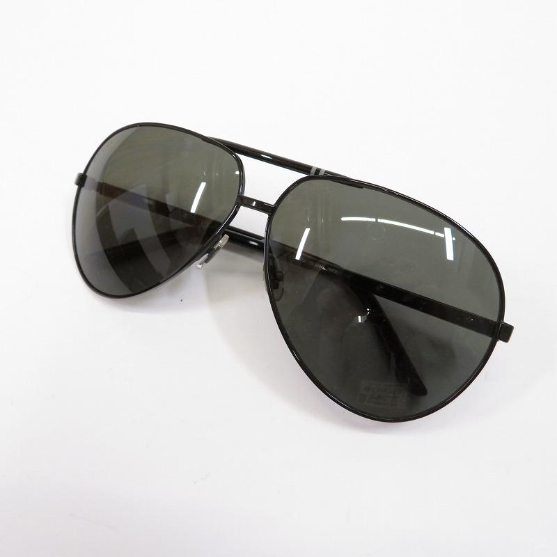 【中古】GUCCI/グッチ ティアドロップサングラス サイズ:ー カラー:ブラック系(レンズカラー)×ブラック(フレームカラー)【f135】