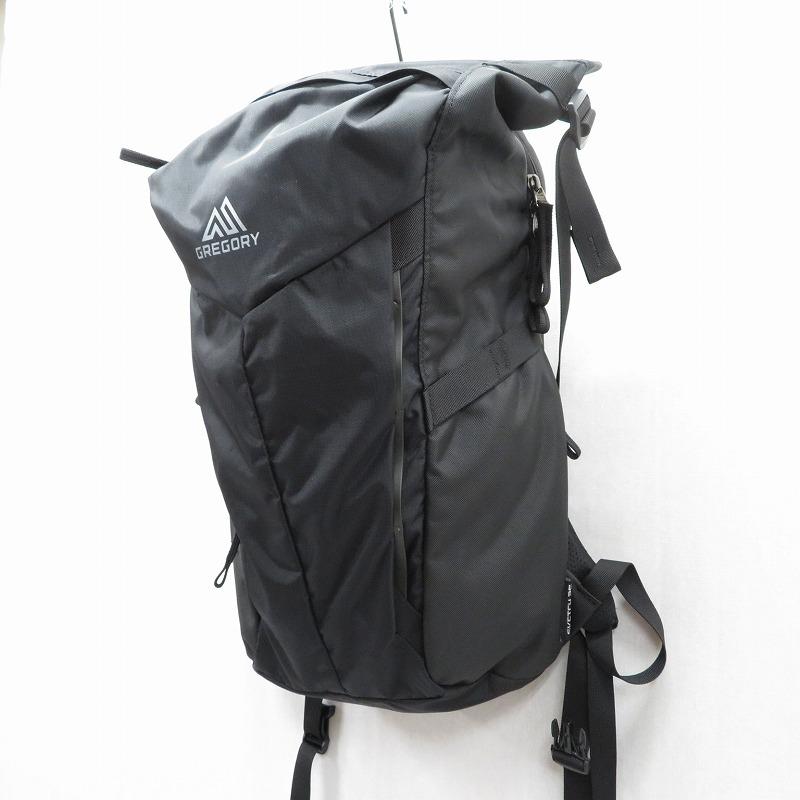 【中古】GREGORY/グレゴリー スケッチ25 リュックサック サイズ:ー カラー:ブラック【f121】