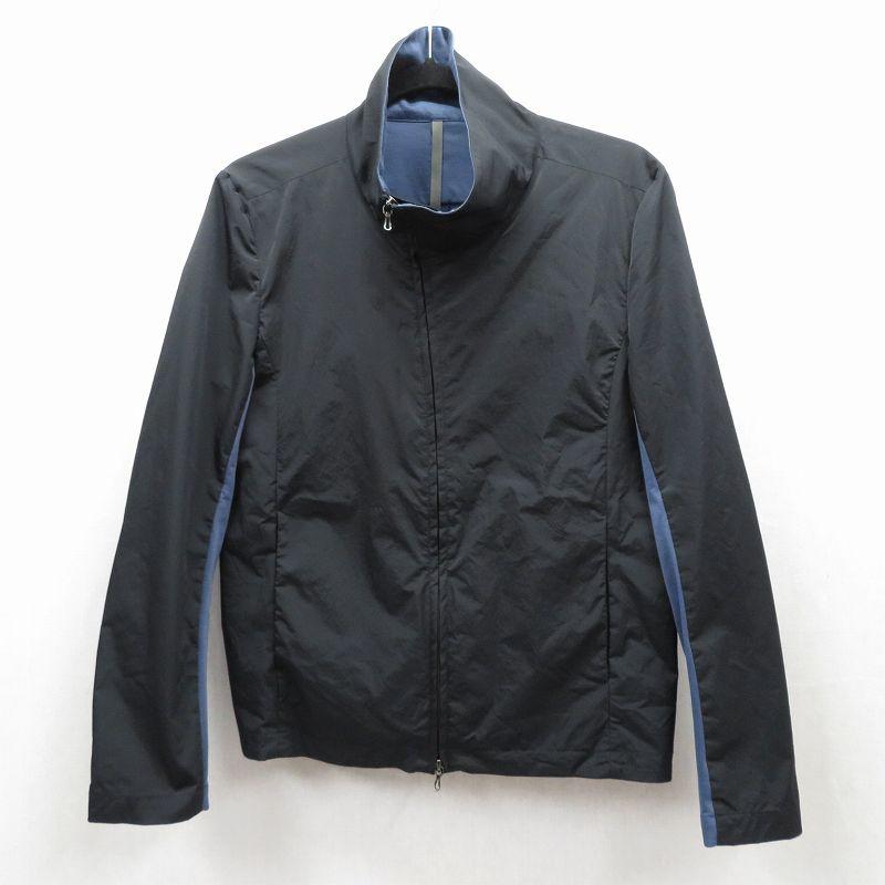 【中古】ATTACHMENT/アタッチメント クールマックスブルゾン ジャケット サイズ:1 カラー:ブラック / ドメス【f096】