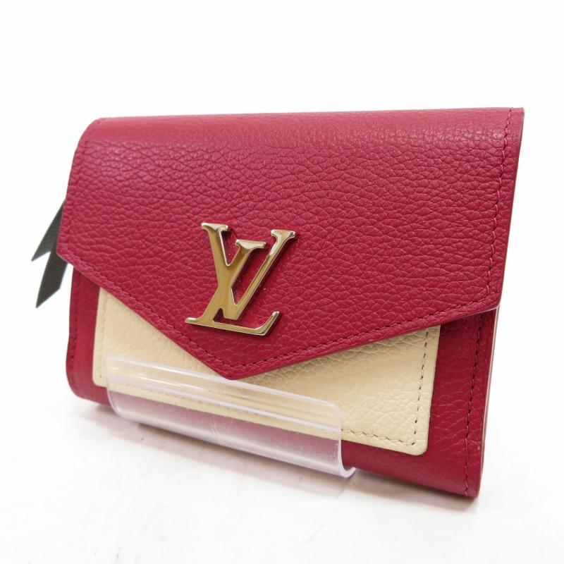 【中古】LOUIS VUITTON/ルイ ヴィトン M63811 ポルトフォイユ・マイロックミー コンパクト 三つ折り財布 サイズ:ー カラー:リドゥヴァン・エタン・クレーム【f125】