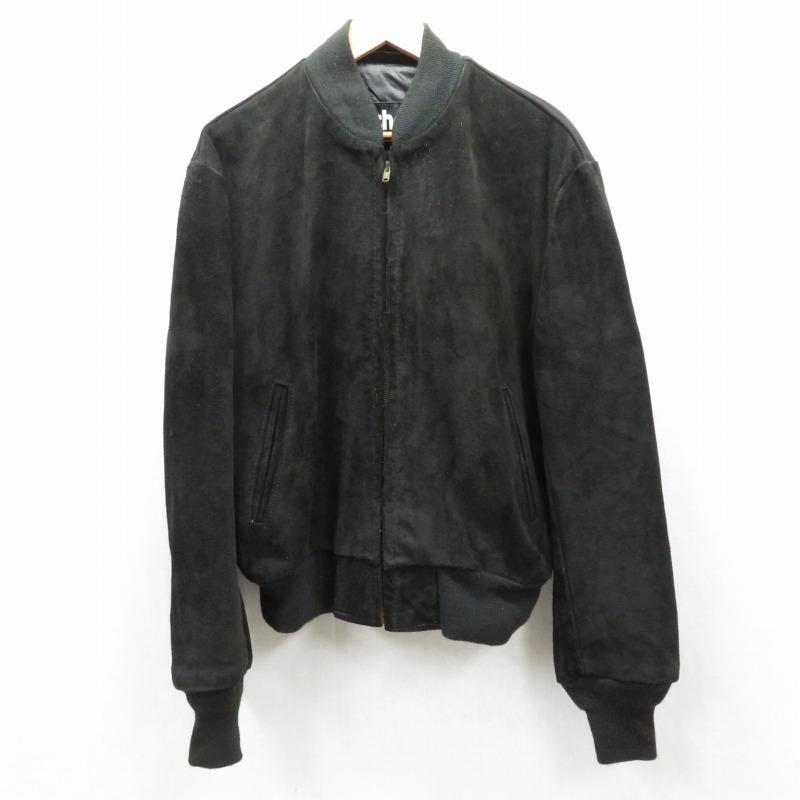 【中古】SCHOTT/ショット レザージャケット サイズ:42 カラー:ブラック / アメカジ【f093】