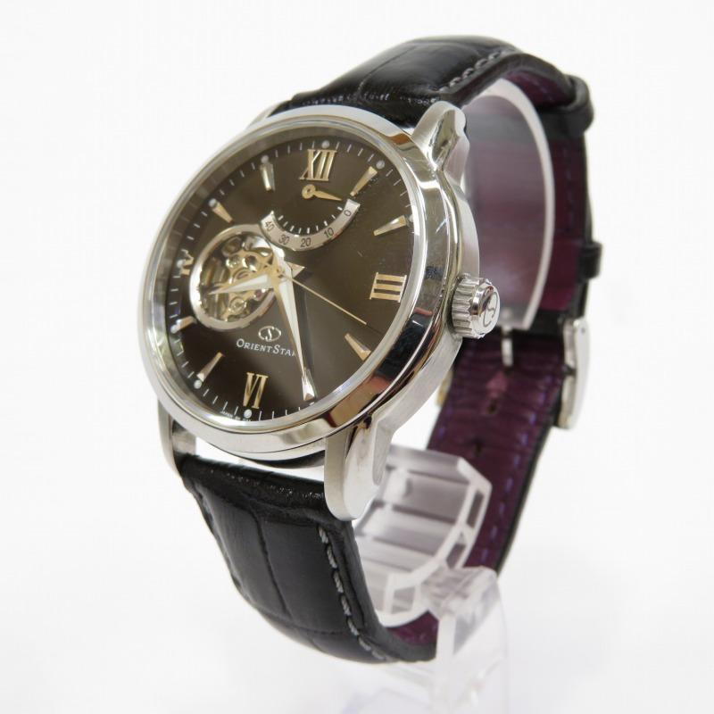 【中古】ORIENT/オリエント ORIENTSTAR オリエントスター DA02-C0-B 腕時計 サイズ:ー カラー:ブラック(文字盤)×ブラック(ベルト)【f131】