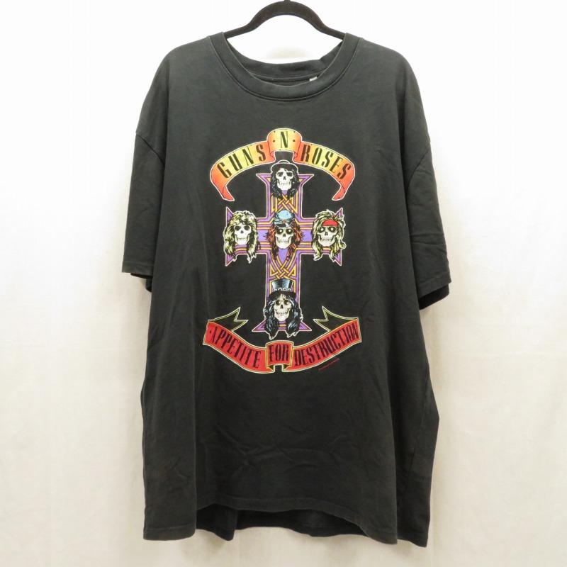 【期間限定】ポイント20倍【中古】FEAR OF GOD/フィアオブゴッド GUNS N' ROSES BOXY T-SHIRTS 半袖Tシャツ サイズ:L カラー:ブラック / ストリート【f103】