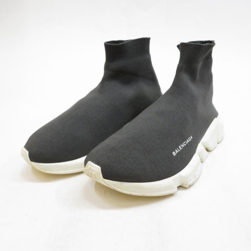 【中古】BALENCIAGA/バレンシアガ SPEED SNEAKERS スニーカー サイズ:26.5cm カラー:グレー【f126】