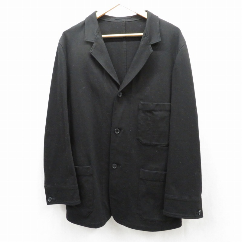 【中古】Y's for men/ワイズフォーメン ジャケット サイズ:3 カラー:ブラック / ドメス【f096】