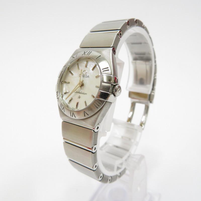 【中古】OMEGA/オメガ CONSTELLATION コンステレーション 123.10.24.60.05.002 腕時計 サイズ:ー カラー:ホワイト(文字盤)×シルバー(ベルト)【f132】