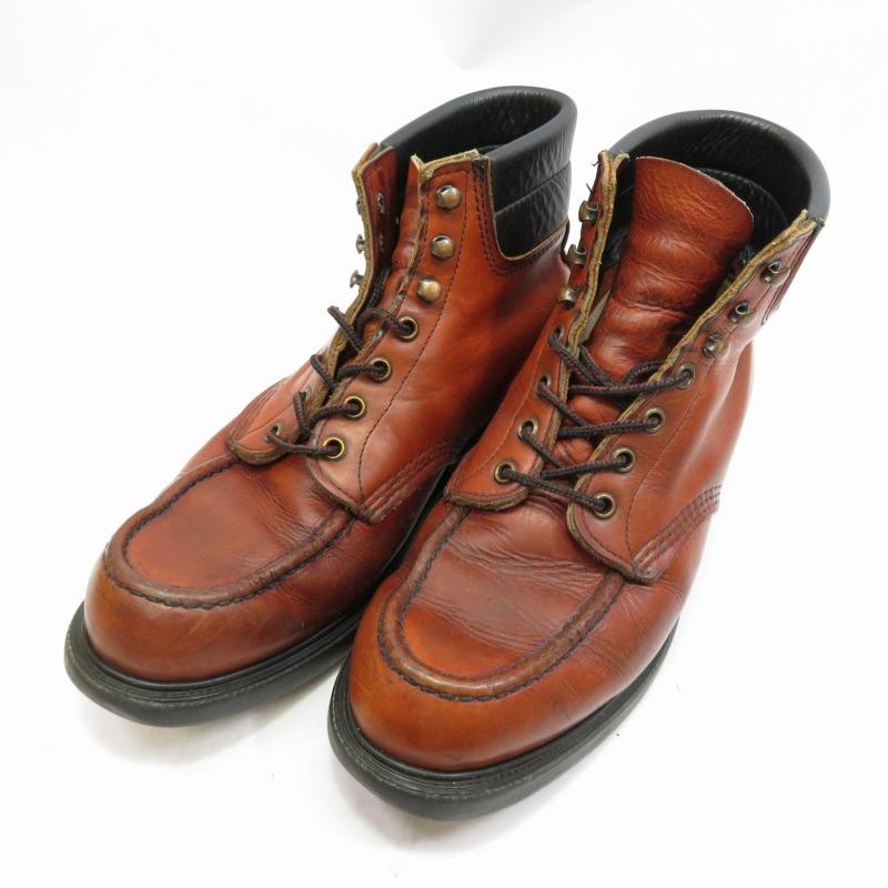【中古】REDWING/レッドウィング ワークブーツ サイズ:27.0cm カラー:ブラウン【f127】