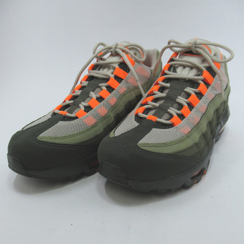 【中古】NIKE|ナイキ AIR MAX 95 OG AT2865-200 スニーカー サイズ:26.0cm カラー:STRING/TOTAL ORANGE/NEUTRAL OLIVE【f126】