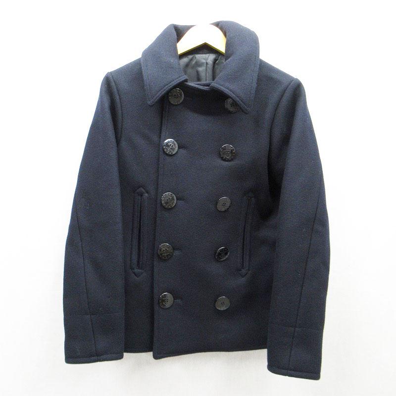 【中古】FULLCOUNT/フルカウント Pコート サイズ:36 カラー:ブラック / アメカジ【f093】