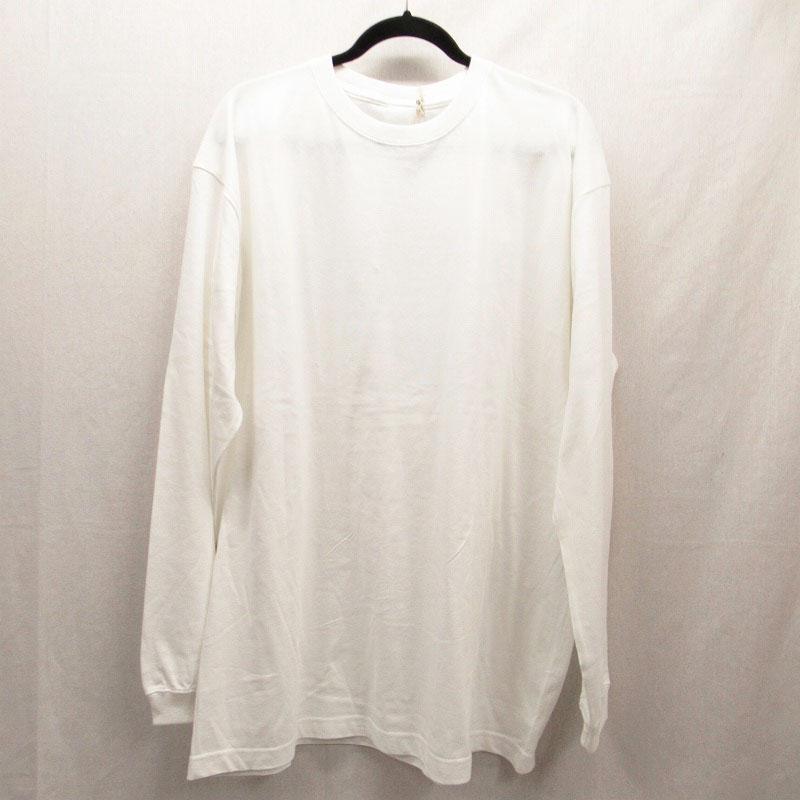 【中古】WIND AND SEA/ウィンダンシー L/S TEE/ロングスリーブTシャツ サイズ:L カラー:ホワイト / ドメス【f104】