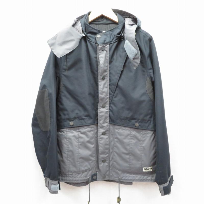 中古 Highland 爆安 Park ハイランドパーク マウンテンパーカー ジャケット f094 サイズ:L インポート 商い カラー:ブラック gwpu