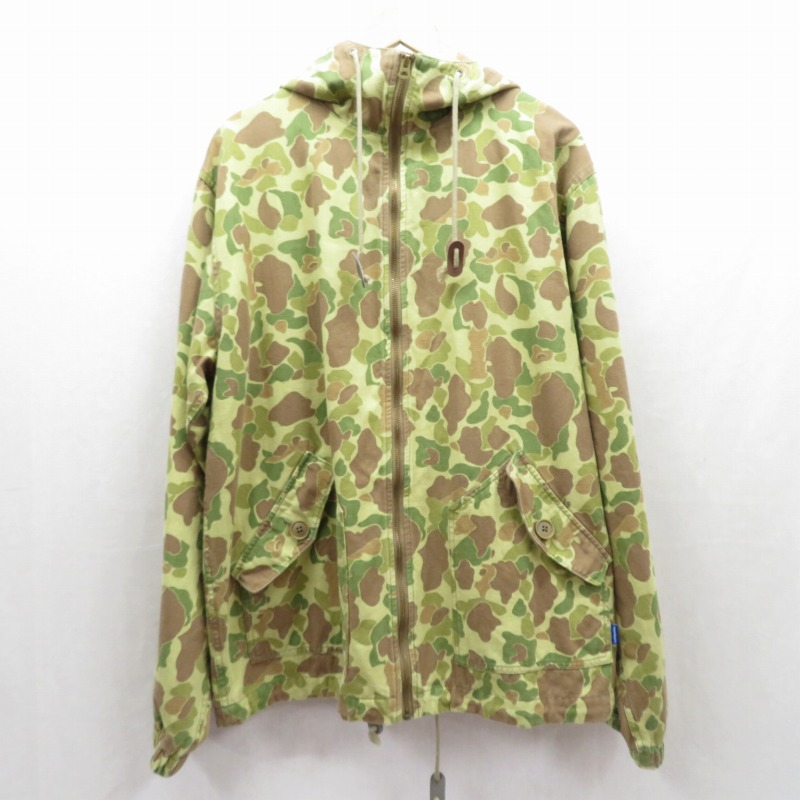 中古 LAFAYETTE ラファイエット Military Hooded Field Jacket カラー:カーキ f095 gwpu 爆買い送料無料 購入 サイズ:L ミリタリージャケット ストリート