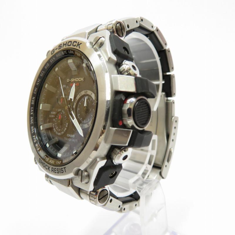 【中古】CASIO/カシオ G-SHOCK ジーショック MTG-S1000D  腕時計 サイズ:ー カラー:ブラック(文字盤)×シルバー(ベルト)【f131】