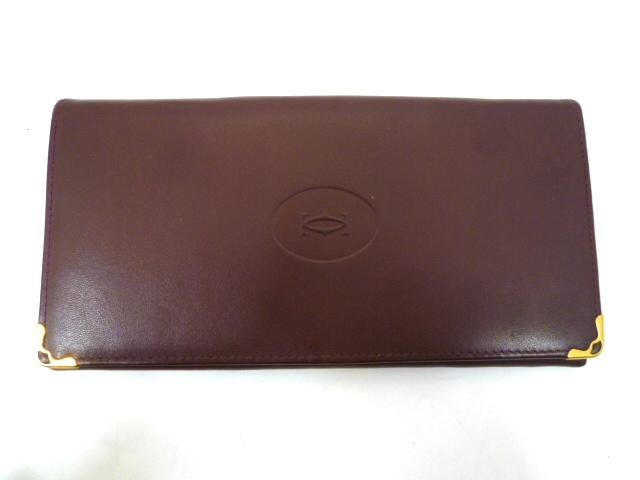 JAN084◇カルティエ 長財布