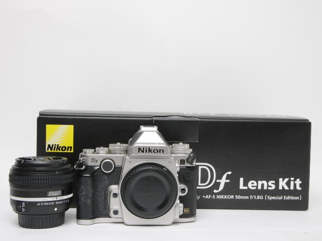 Nikon ニコンDf 50mm f 1.8G Special Editionキットシルバー レリーズ1988回 / Df Lens Kit/デジタル一眼レフ※中古