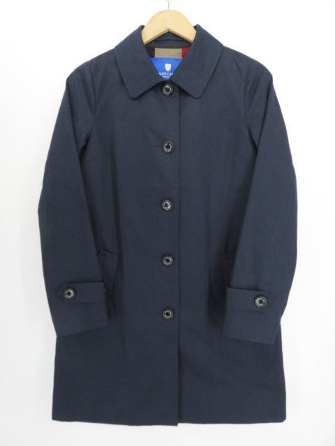 BLUE LABEL CRESTBRIDGE ステンカラーコート NAVY 38サイズ ※中古