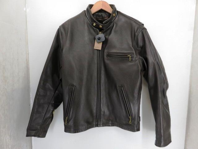 Schott/ショット シングルライダースジャケット サイズ38/ブラウン