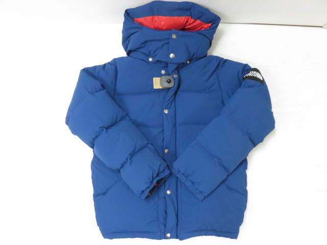 THE NORTH FACE ノース フェイスキャンプ シエラ ショートダウンジャケット ND91401ブルー サイズ:M ※中古