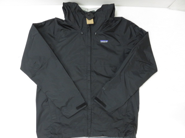 patagonia パタゴニアトレントシェルジャケット ブラック サイズ:M ※中古