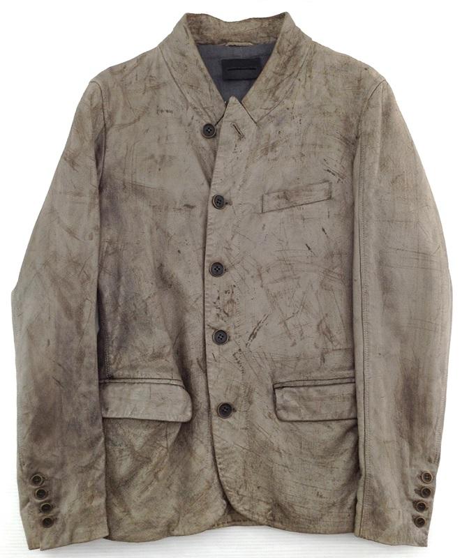 【中古品】【サイズ:46】DIESEL BLACK GOLD ディーゼルPIG LEATHER vintage加工メンズ ファッション【八代店】