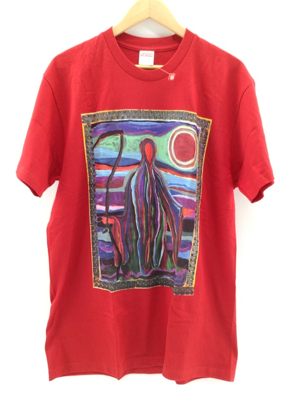 【中古品】Supreme 19SS Reaper S/S TeeJosh Smith ストリート Lサイズ【八代店】