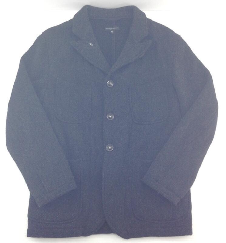【中古】【サイズ:XS】Engineered Garments エンジニアードガーメンツ Bedford Jacket Wool Homespun DE243 gray グレー Tailored テーラード メンズ アウター ジャケット【八代店】