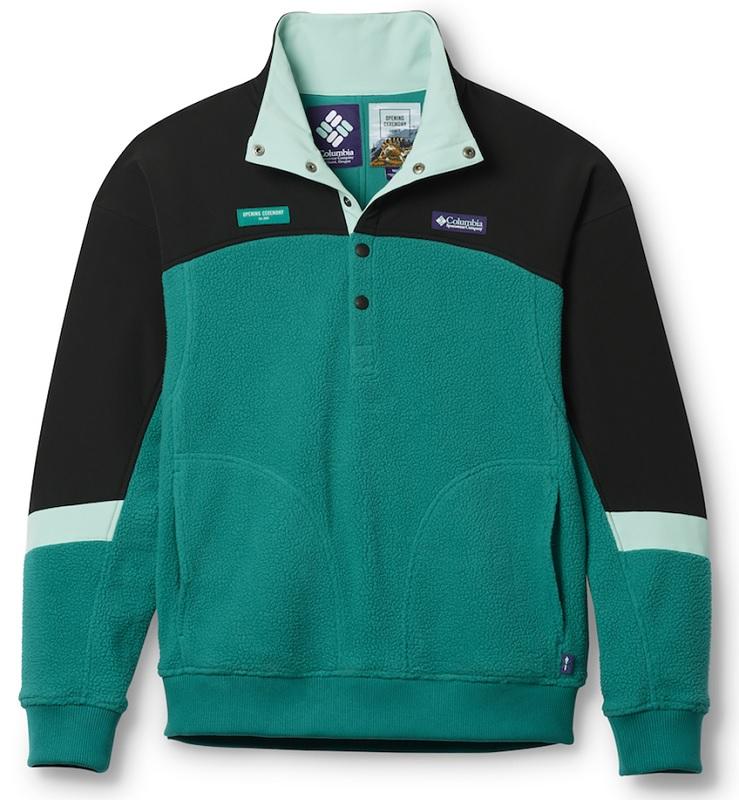 【未使用】【サイズ:XS】Columbia×Opening Ceremony コロンビア オープニングセレモニー XM0759-391 Falcon head Sweater ファルコンヘッド セーター アウトドア メンズ ファッション フリースジャケット【八代店】